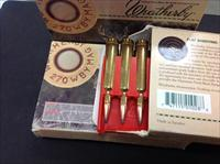 270 Weatherby Mag 150gr spire point ammo. 60 rounds.