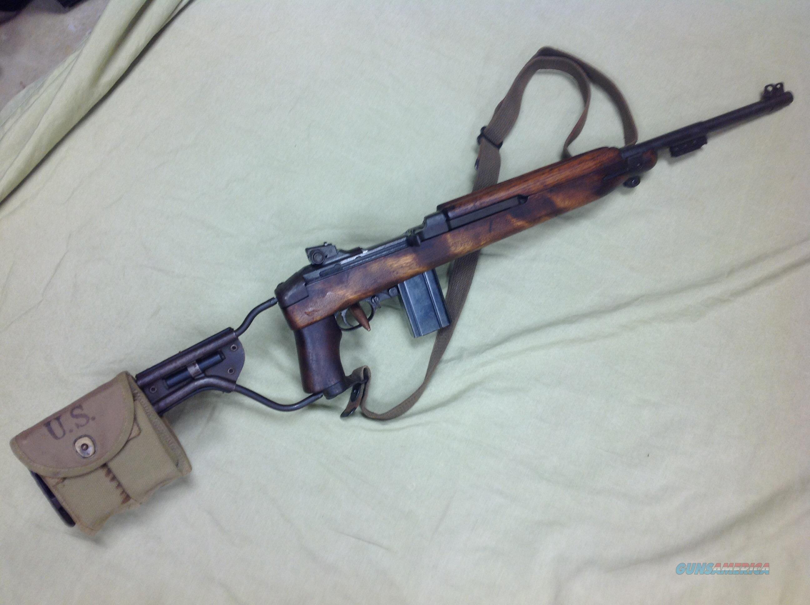 Inland M1 Carbine W Paratrooper Stock