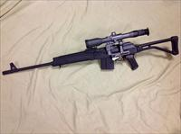 Saiga 308-1 folding stock w/Moon optic