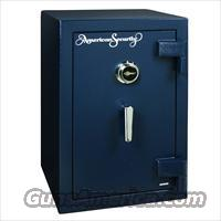 American Security AM3020 Fire Resistant Home Security Safe - Dial Lock