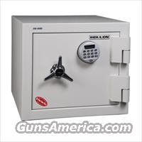 Hollon FB-450 2 Hr. Fire & Burglary Safe w/Biometric Lock - 1.23 cu. ft.