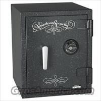 American Security UL3918 Gun Safe - 2-Hour Fire Safe - Granite/Electronic Lock
