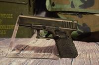 Glock 23 .40S&W Gen 4 Custom Glock battle worn stippled