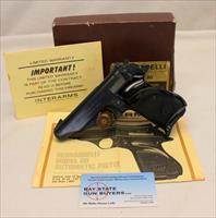 Bernadelli MODEL 80 semi-automatic pistol ~ .22LR ~ BOX & MANUAL ~ Interarms
