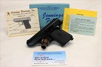 Jennings MODEL J-22 semi-automatic pistol ~ .22LR ~ Original Box & Papers ~ MINT CONDITION (NO MA SALES)