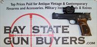 Smith & Wesson Model 41 Target Pistol .22LR BOX, PAPERS, SIGTAC RED DOT SCOPE