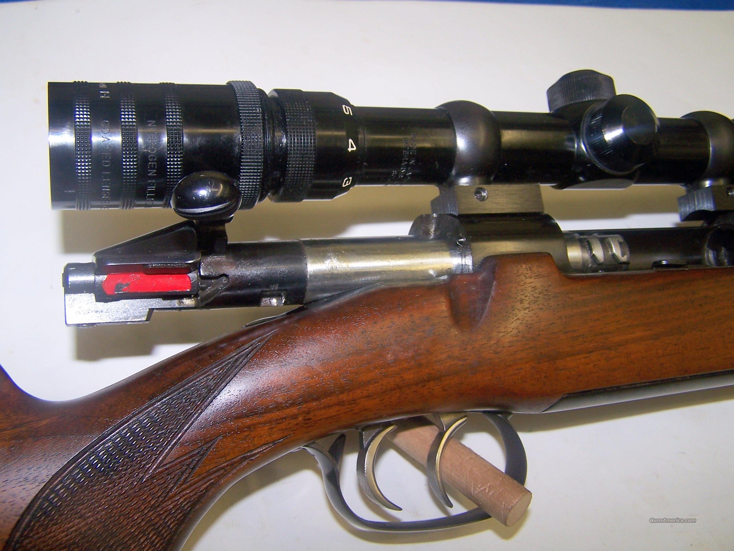 Mannlicher Schonauer M72 7x64 caliber Steyr M 72 Mauser Scope