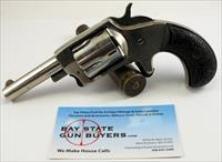 Iver Johnson DEFENDER '89 5-shot revolver ~ .32 Rimfire Caliber ~ Nickel Finish