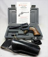 Ruger Single Six Covertible Revolver ~ .22LR / .22 Mag ~ Case, Manual & Holsters