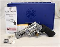 "Smith & Wesson MODEL 500 double action revolver ~ 4"" Barrel ~ UNFIRED in Original Box"