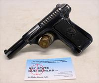 Savage Model 1907 semi-automatic pistol ~ .32 Caliber (7.65mm) ~ ORIGINAL CONDITION