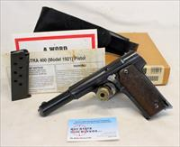 ASTRA Model 400 semi-automatic pistol ~ 9mm LARGO ~ Box, Manual, (2) Magazines & Leather Holster!