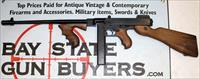 AUTO ORDNANCE MODEL 1927 A1 THOMPSON SEMI-AUTOMATICE CARBINE .45 ACP -  LIKE NEW