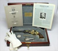 Official ROBERT E. LEE Commemorative COLT 1851 NAVY REVOLVER ~ Case, Accessories & Paperwork