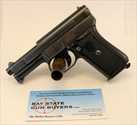 MAUSER Model 1910 semi-automatic pistol ~ .25ACP (6.35mm) ~ C&R Eligible ~ HIGH CONDITION