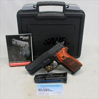 Sig Sauer P229  semi-automatic pistol ~ .9mm ~ Excellent Pre-owned Pistol ~ ROSEWOOD GRIPS