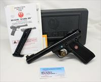 Ruger TARGET MODEL 22/45 MK III semi-automatic pistol ~ .22LR ~ Mags, Manual and Box