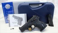 Beretta 9000S semi-automatic pistol ~ 9mm ~ Box, Manual & (2) Magazines