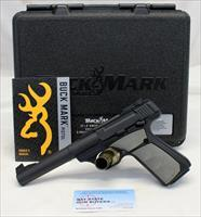 Browning BUCKMARK Target Pistol ~ .22LR ~ Box & Manual ~ 5.5