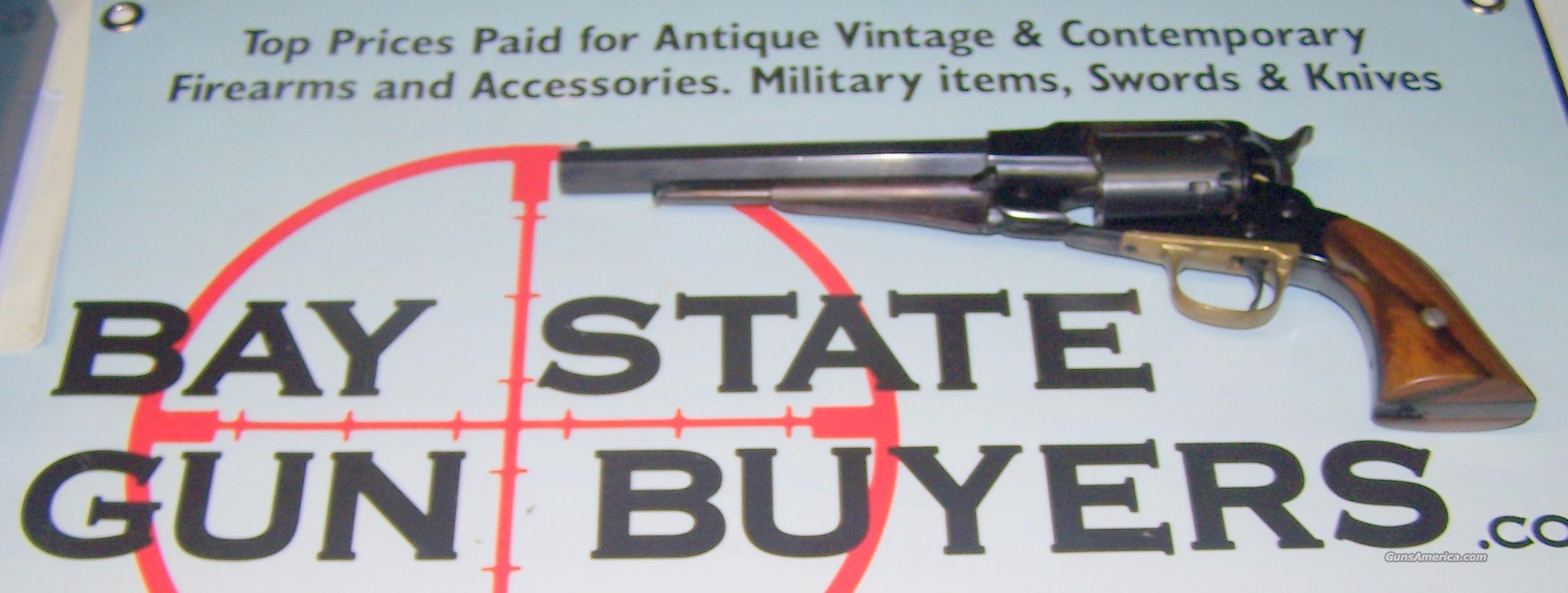 Armi San Marco 1851 Colt Navy Steel .44 Black P... for sale
