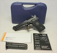 Beretta Model 92FS semi-automatic pistol ~ 9mm ~ BOX & PAPERS