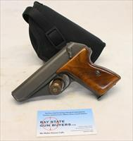 Mauser HSc semi-automatic pistol ~ 7.65mm (.32Acp) ~ PHOSPHATE FINISH ~ Late Production FRENCH Production