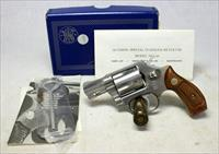 Smith & Wesson Model 60 Stainless Steel Chiefs Special ~ AS NEW IN ORIGINAL BOX ~ No Dash
