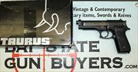 Taurus Model PT 92 AF semi-automatic pistol ~ 9mm Para. caliber ~ ORIGINAL BOX