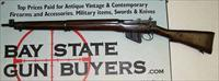 ENFIELD No4 MK1 bolt action rifle .303 British Cal. ROF Fazakerley FIELD USED