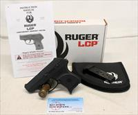 Ruger LCP semi-automatic handgun ~ .380 ACP ~ Box, Extra Mag & Manual ~ PERFECT CONCEAL CARRY OPTION (NO MA SALES)