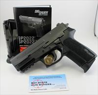 Sig Sauer SP2022 semi-automatic pistol ~ .22LR ~ Manual & (2) Factory Magazines
