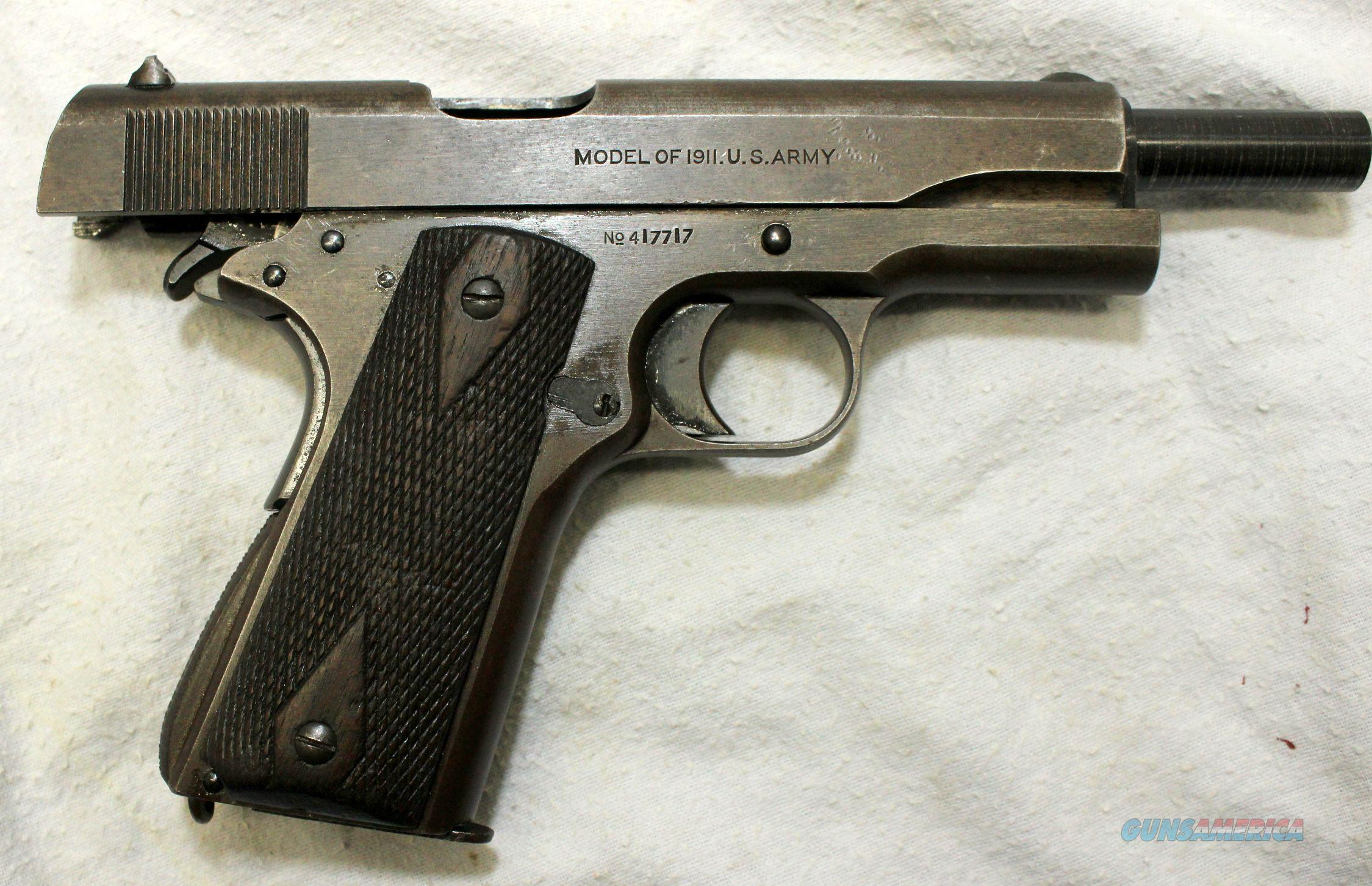 how to clean a colt 1911 pistol