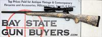 Savage Model 11 bolt action rifle ~ .22-250 ~ Real Tree CAMO STOCK ~ Nikon 3-9x40 Scope