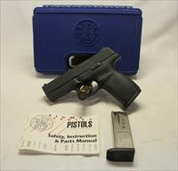 Smith & Wesson Model SW40C semi-automatic pistol ~ .40s&w cal. ~ SIGMA SERIES ~ Box & (2) Mags
