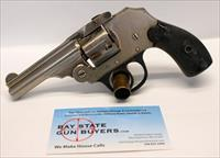 IVER JOHNSON Safety Hammerless Revolver ~ .32 S&W ~ TOP BREAK