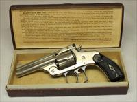 early Smith & Wesson DOUBLE ACTION 38 (2nd Model) IN ORIGINAL BOX