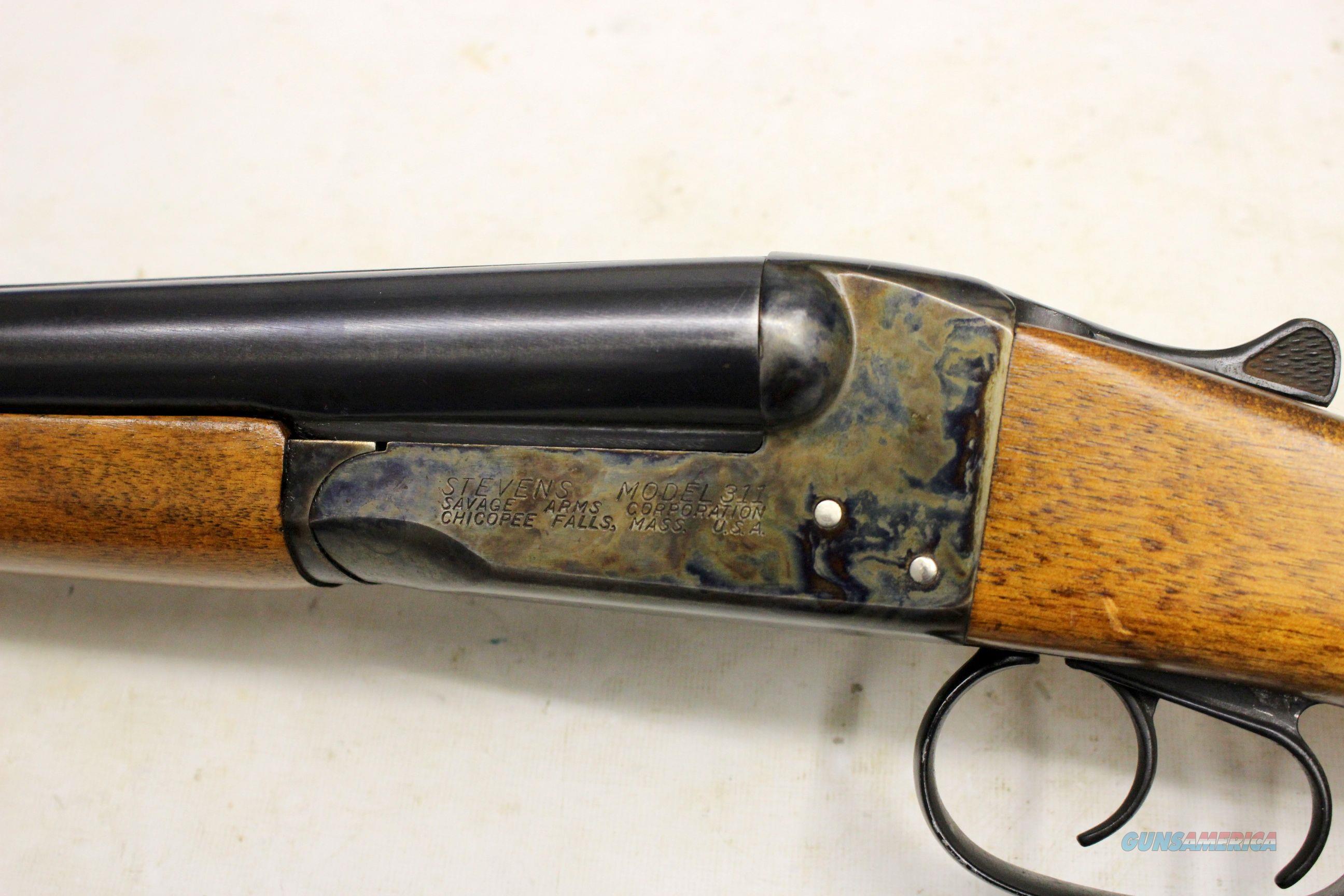 Stevens Model 311A 16 gauge double barrel shotugun SOLID RIB 311