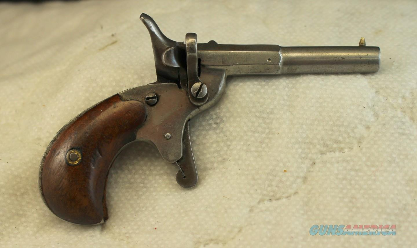 antique German Flobert style PARLOR PISTOL ~  22 short caliber (6mm) ~ RARE