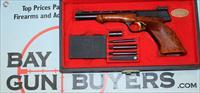 Browning Medalist .22LR Target Pistol with CASE, WEIGHTS & MANUAL