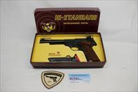 High Standard Model 106 Military Supermatic Tournament semi-automatic pistol ~ .22LR ~ ORIGINAL BOX