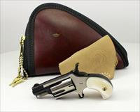 "North American Arms ""COMPANION"" .22 Caliber Cap & Ball MINI-REVOLVER w/ holster & pouch."