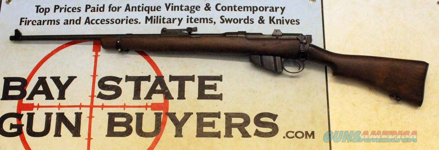 Lee-Enfield Bolt Action SPORTER Rifle ~  303 British ~ WWII Era ~ GREAT  SHOOTER