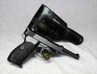 Walther P38 P1 semi-automatic pistol ~ 9mm ~ Post War (Dated 3/59) with Original Holster