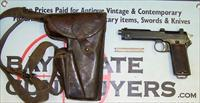 Steyr Model 1917 semi-automatic 9mm pistol with WWI era ROTH-STEYR Holster