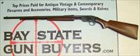 early Savage Arms Model 1914 Pump Action Rifle .22 S,L,LR