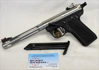 Ruger MKIII 22/45 semi-automatic Target Pistol ~ .22LR ~ UPGRADED ~ Stainless Steel Barrel