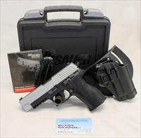Sig Sauer P226 TWO TONE semi-automatic pistol ~ 9mm ~ Case, Manual, Magazines & Holster