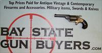 "RARE Moore's Patent Firearms Co. FRONT LOADING REVOLVER .32 ""Teat-Fire"" caliber 1860's"