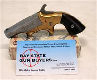 Merrimack Arms & Mfg. Co. SOUTHERNER Derringer ~ .41 Short Rimfire Caliber ~ Navy Arms Ammo