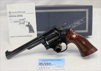 "Smith & Wesson K-38 MASTERPIECE Model 14 (No Dash) revolver ~ .38SPL ~ 6"" Bbl ~ Box & Manual"